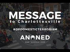 Check out my latest video: Anonymous - Message to Charlottesville #OPDOMESTICTERRORISM https://youtube.com/watch?v=rfU-j-BJI9I