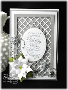Created for this week's Our Daily Bread Designs Shining the Light Challenge.  The challenge... use gold or silver...  Stamp set - ODBD's Christmas Blessings