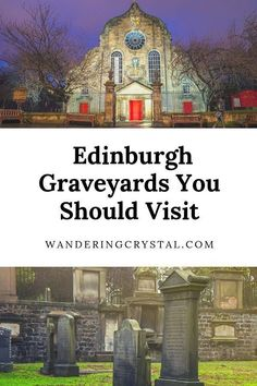 Scotland has a ton of historic graveyards. Greyfriars is full of history from a loyal dog, a scary poltergeist to Harry Potter inspiration. Edinburgh Travel, Edinburgh Castle, Edinburgh Scotland, Scotland Travel, Scotland Trip, Scotland History, Highlands Scotland, Skye Scotland, London Travel