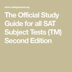 Sat chemistry subject test the best prep books perfect scorer the official study guide for all sat subject tests tm second edition fandeluxe Choice Image