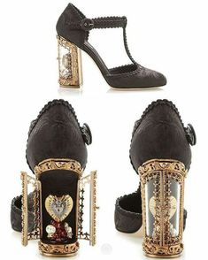Window Reliquary shoes by Dolce & Gabbana, seen on Steampunk Tendencies fb.