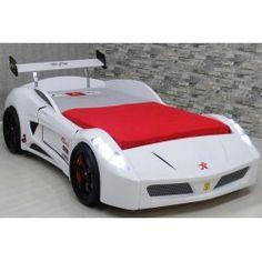 TURBO V7 Race Car Bed