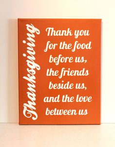 Thanksgiving Painted Canvas. $15.00, via Etsy.