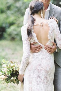 Neutral Wedding Inspiration with Organic Textural Details | Emily Ann Hughes Photography