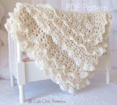 Looking for your next project? You're going to love Victorian Crochet Baby Blanket #89 CCP by designer Kyoko-CCP. - via @Craftsy