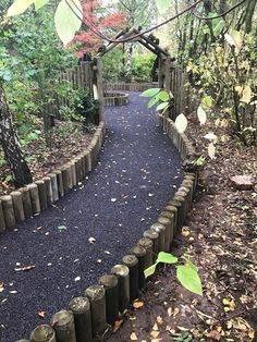 Where will this path take us? Resin bound rubber mulch can have a lovely natural aesthetic