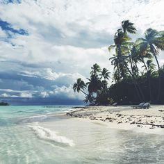 Stormy skies make Bora Bora even more romantic. Photo courtesy of thepumpkinspot on Instagram.