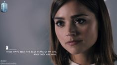 """Clara: """"Tomorrow's promised to no one, but I insist upon my past! I am entitled to that!"""" 