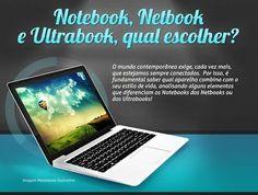 Saiba qual é realmente as diferenças entre os notebooks, netbooks e ultrabook e saiba qual deve realmente comprar