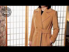 Как сшить пальто своими руками. SEWCROSS от Grasser. Пальто по выкройке №517 - YouTube