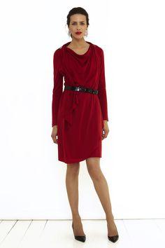 Firenze Dress Moss - The Fold £325