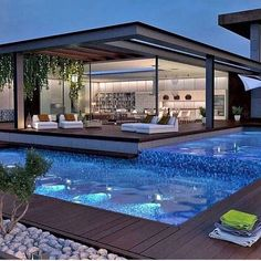 21 fascinating outdoor areas - home design - (over 21 fascinating outdoor . - 21 fascinating outdoor areas – Home Design – (over 21 fascinating outdoor areas) – # Outdoor - Home Design, Modern House Design, Villa Design, Modern Pool House, Modern Gazebo, Modern Patio, Design Design, Big Modern Houses, Modern Backyard Design