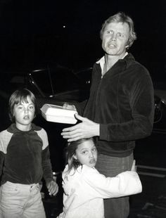 Jon Voight with Angelina and James