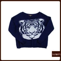 Sweater tigre azul Cód. 42166 / Precio $34,990 *Hecho en Italia