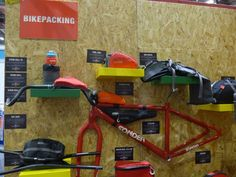 Alpkit stand at the London Bike Show - inspiration for some family bikepacking later in the year