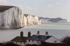 U.K. Seven Sisters coastline, Sussex | by Paul via Flickr