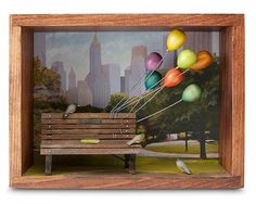 Αποτέλεσμα εικόνας για shadow box diorama piano bar