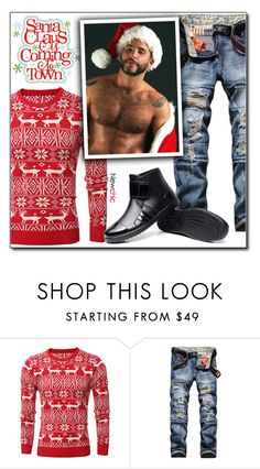 """""""Newchic (28/IV)"""" by dorinela-hamamci ❤ liked on Polyvore featuring men's fashion, menswear, chic, New and newchic"""