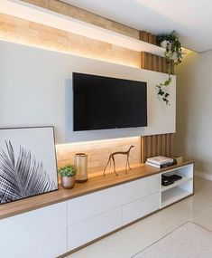 awesome 53 Adorable Tv Wall Decor IdeasYou can find Tv walls and more on our website. Living Room Tv Unit Designs, Living Room Wall Units, Home Living Room, Living Room Decor, Wall Cabinets Living Room, Tv Wall Cabinets, Tv Unit Decor, Tv Wall Decor, Modern Tv Wall Units