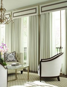 designer fabrics and custom window treatments shipping to you. Message us for personal assistanceEye Candy. designer fabrics and custom window treatments shipping to you. Message us for personal assistance French Door Coverings, Window Coverings, Window Cornices, Valences For Windows, Window Drapes, Modern Curtains, Curtains With Blinds, Drapery Panels, Bedroom Curtains