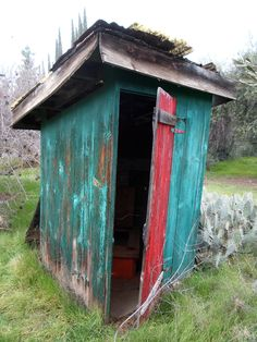 366 best OUTHOUSES images on Pinterest in 2018 | Bathrooms, Outhouse ideas and Toilets