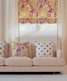 matching wallpaper and fabric for curtains - Google Search