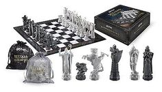 Wizard #chess set #harry #potter the noble collection,  View more on the LINK: 	http://www.zeppy.io/product/gb/2/232005810478/