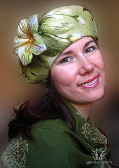 (28) Одноклассники Millinery Hats, Wool Art, Love Hat, Felt Hat, Wet Felting, Fiber, Hair Accessories, Textiles, Fedora Hat