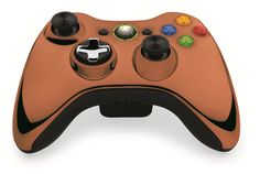 Amazon.com: Custom Xbox 360 Controller Wireless Glossy Black Brown- Without Mods: Video Games