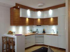 Biało-drewniana kuchnia 2 Decor, Home Decor, Furniture, Table