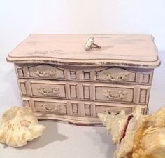 Pretty Pink Jewelry Chest Shabby Chic Pink Jewelry Box by shabbyshores, $45.00 https://www.etsy.com/listing/172498163/pretty-pink-jewelry-chest-shabby-chic?ref=shop_home_active_24