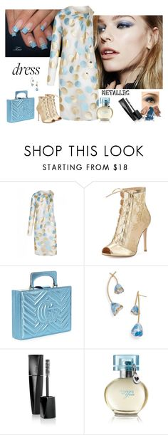 """""""Stunning"""" by margaretkellogg on Polyvore featuring The 2nd Skin Co., Gianvito Rossi, Gucci, Tory Burch and Mary Kay"""