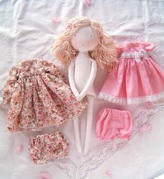 by Sweetsdreambaby Child Doll, Girl Dolls, Baby Dolls, Dolls Dolls, Fabric Doll Pattern, Fabric Dolls, Homemade Dolls, Little Girl Gifts, Doll Tutorial