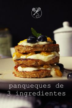 3-ingredient pancake