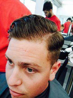 1950's haircut