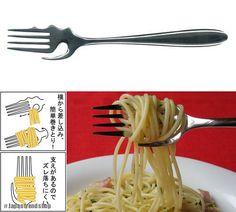 Forchetta Calamete - un'idea dal Giappone