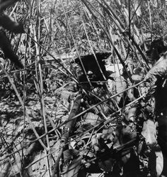 http://ww2today.com/wp-content/uploads/2013/12/Gurkha-soldier.jpg The Arakan Campaign January 1943 – May 1945: A Gurkha soldier at a camouflaged position in the Arakan jungle.