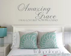 Our wall decals and home decor are made from high quality removable wall vinyl. Wall decals for any room in your home including nursery wall decals and wall art.  Measurements - 30 wide by 11 high  Design is available in any of the color choices in our color chart - Please leave color choices in note to seller when purchasing. If no color is specified at the time of order - design will be shipped in Black.  (Special orders are welcomed and larger quotes are available upon request) please…