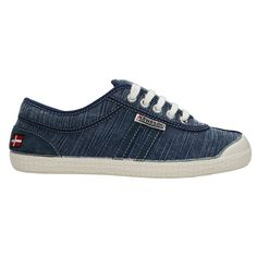 Zapatillas Kawasaki Retro Stitch Navy #zapatillas #moda #verano
