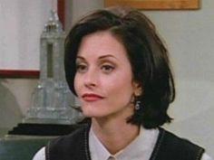 Monica Geller short hair