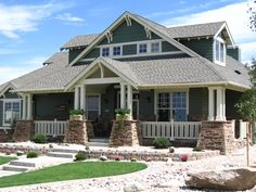 front porch designs wrap around | Copyright by designer/architect Drawings and photos may vary ...