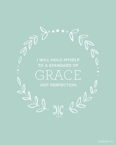 I'm not your kind of perfection, I am made perfect by my Lord in heaven.