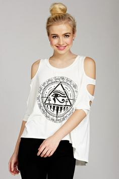 Follow Your Dreams' Graphic Top only $16.99
