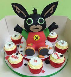 CBeebies Bing birthday cake