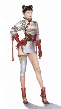 ArtStation - Chang c ArtStation - Chang chun 2 costumes bluezima -shin dong wook 3d Fantasy, Fantasy Girl, Fantasy Team, Female Character Concept, Character Art, Fantasy Characters, Female Characters, Drawn Art, Warrior Girl