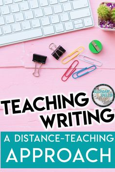 Teach your students how to write essays during remote and distance instruction with these essay writing teaching strategies especially for distance teaching. From assigning a writing assignment to completing group brainstorming to reconsidering how you grade essays and writing assignments during remote teaching, teaching writing during remote instruction requires a focused approach. Teaching Writing   Middle School ELA Writing   High School Writing   Distance Learning   Essay Writing   ELA