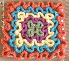 Squiggle Crochet.