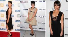 Lea Michele - 15 Celebrities Who Wear Underwear as Outerwear—Miley & More