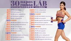 Edzés otthon: 7 egyszerű gyakorlat az izmos lábért Chest Workouts, Street Workout, Thigh Exercises, Flat Tummy, Training Plan, Just Do It, Metabolism, Healthy Life, Health Fitness