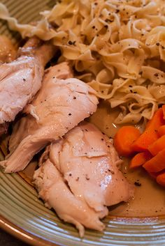 recipe: whole roasted chicken in the crockpot. This is super easy and meat falls right off the bone! This a new easy go to meal for me